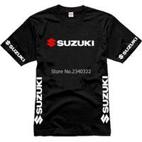 Wholesale Team T Shirts Wholesale - Wholesale- summer Wholesale Men Suzuki Motorsport Team Logo T-shirt Cotton Short Sleeve O-neck T shirt Size XS-XXL