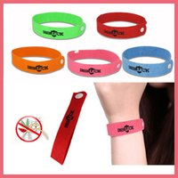 Frete Grátis Mosquito Insect Repelente Band Braceletes Anti Mosquito Pure Natural bebê Wristband Hand Ring 112902