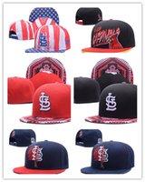 Wholesale Design Snapbacks Cheap - New Design wholesale new St Louis Cardinals Snapback Team Sports Caps Cheap Baseball Hats Men Women Caps Brand New Style Flat Hats