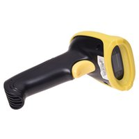 Atacado- Wireless Handheld USB Barcode Scanner Bar Code Gun Laser Scan + 2.4ghz Receiver