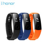 Neue Original Huawei Ehrenband 3 Smart Wristband Swimmable 5ATM OLED Screen Touchpad Kontinuierliche Pulsuhr Push Message