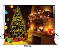 Wholesale christmas backdrops for photography - Christmas 7X5ft camera fotografica backdrops vinyl cloth photography backgrounds wedding children baby backdrop for photo studio 10322