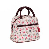 Wholesale Waterproof Tote Bag Pattern - 2017 New Hot Variety Pattern Lunch Bag Lunchbox Women Handbag Waterproof Picnic Bag Lunchbox For Kids Adult 10 colors Series 2