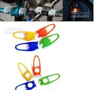 Wholesale colorful Silicone LED bicycle light lamp