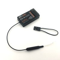 Wholesale 6ch rc receiver - Original E6-A MC6DR Microzone 2.4Ghz 6 channel RC receiver 6CH radios control receiver for MC6 and MC6A MC6B