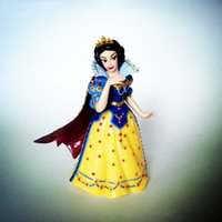 Wholesale Ariel Little Mermaid Doll - cinderella figure set snow white doll the little mermaid pvc figures Princess Ariel Belle Cartoon PVC Action Figure Toy free shipping