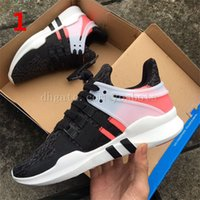 Wholesale Dhl Men Shoes - dhl free 2017 EQT Support ADV Primeknit hot sale high quality running shoes for men and women sports shoes sneakers ,size us 5.5-10