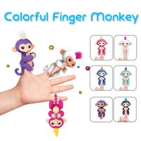 Wholesale Baby Toys Sound - Fingerlings Interactive Baby Monkey Sound Finger Motion Hanger Toy Gift with Retail Package