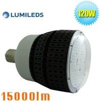 Wholesale Lead Farm - 120W LED Retrofit High Bay Bulb Light 5000K Daylight White E39 Mogul Base Replace 400Watt Metal Halide Warehouse Garage Light for Gym Farm