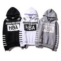 Wholesale Color 69 - Hood By Air 69 HBA Hoodies Men Women Fashion Autumn Winter Warm Coats High Quality Brand Clothing Hip Hop Hooded Sweatshirts