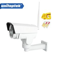 Wholesale Hd Auto Ir - 1080P 960P 3G 4G SIM Card Camera Wifi Outdoor PTZ HD Bullet Camera Wireless IR 50M 4X Zoom Auto Focus 3516C+SONY323 IP Camera