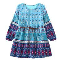 Wholesale American Girl Vestidos - Kids Autumn Winter Dress 2017 Designer Girls Dress Moana Vestidos Kids Clothes Kids Dresses for Girls Clothes