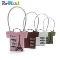 Wholesale 1pcs New Digit Dial Combination Suitcase Luggage Metal Code Password Lock Padlock Colors For Pick