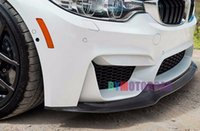 Wholesale Car surrounded V Style Real Carbon Fiber Front Lip Spoiler F80 M3 F82 M4 Fit For BMW B256