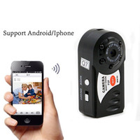 Wholesale Hidden Night Vision Ip Camera - Q7 Wireless Spy Hidden Cameras WiFi HD IP Camera Mini DVR Infrared Night Vision Sport DV Hidden Spy Video Recorder Camera