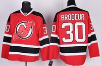 Wholesale New Jersey Drop Ship - Stitched New Jersey Devils #30 Brodeur #9 Hall #17 Kovalchuk 15 LANGENBRUNNER Red Green Hockey Jerseys Ice do Drop Shipping,NHL Mix Order