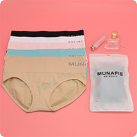 Wholesale Hot Beautiful Sexy Body - Hot Sale Janpan MUNAFIE Ladies Middle Waist Panties Beauty Care Control Body Slimming Belly In Sexy Briefs Beautiful buttock