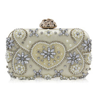 Wholesale cell phone nails - Nail bead womens evening clutch handbags Evening purses clutches purses ladies handbags party purses for women