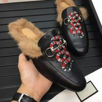Wholesale Leather Animal Suits - luxury brand beautiful color and pattern wear comfortable with fur suit autmn and spring top quality leisure mens shoes of 38-45