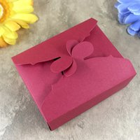 Wholesale Cover For Album - Flower Petal Cover Gift Box Maker Metal Die Cutting Dies For DIY Scrapbooking Photo Album Decorative Die Cutting Template