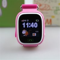 Горячие продажи G72 Дети GPS Tracker Дети Smart Watch Phone SIM Quad Band GSM Безопасный SOS Call Q80 Q90 Smartwatch для Android IOS
