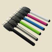 dampf-batterieladegeräte großhandel-O Stift CE3 BUD Touch Batterie Mini 510 Faden 280mAh Vapor Pen Batterien mit USB Ladegerät für CE3 Zerstäuber Zerstäuber Patrone DHL