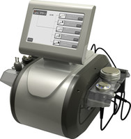 vakum makineleri toptan satış-Çok İşlevli 40 K Ultrasonik Vakum Kavitasyon RF Liposuction Makinesi 5 MHz Bipolar Tripolar Multipolar Radyo Frekansı Ağırlık Kaybetmek Makinesi