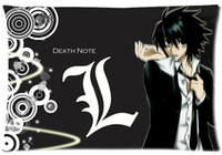 Wholesale Death Note Case - Wholesale- Rectangle Zippered Classic Nice Best Custom Death Note Pillow Case Two-sided Pillowcase Keith Urban Pillow Cover #P0073