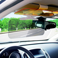 Wholesale car day night for sale - Day and Night Anti Glare Car Windshield Visor Universal Sunshade and Night Vision Anti Dazzle Windshield Driving Visor