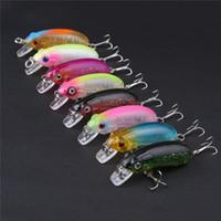 Wholesale bionic minnow bait online - Original HENG JIA Colors Set Mini Minnow Bionic Hard Bait cm g Fishing Lure Bait Plastic Hard Bait