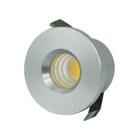 Wholesale Mini Sat - Wholesale- 5pcs Lot Mini COB 3W LED Downlight LED Cabinet Spot light Lamps Foyer living sitting recessed micro miniature spot down light