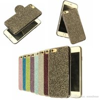 Wholesale Phone Jewel Cases - Luxury Crystal TPU Case Bling Jewel Diamond Rhinestone Glitter Phone Cover For iphone 7 6 6s plus 5 5S SE OPP BAG