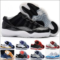 Wholesale 2017 Mens and Women Retro Low Barons S Black Basketball Shoes Out Door Sports Sneakers for Men Size US5 Euro