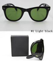 Wholesale Sports Sunglasses Folding - 2016 men and women fashion retro Brand sunglasses exempt postage sports glasses favorite folding sunglasses