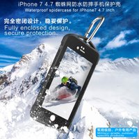 Wholesale Spider Phone - For The new iphone 7 7plus cell phone explosion-proof spider spider web super waterproof shell phone protection shell