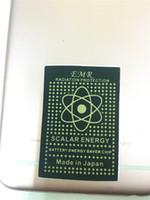 Wholesale Energy Sticker - Advance Technology Energy Saver Chip Anti Radiation Sticker EMR Sticker Bio Energy EMF Shield Anti Radiation Sticker