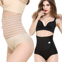 Wholesale Girdle Dhl - Breathable Women Postpartum Recovery Belt Pregnancy Girdle Slimming Belly Control Tummy Trimmer Waist Bands L-2XL By DHL