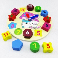 Wholesale Word Games Educational - New 1~3 Yrs Baby Number Word Montessori Wooden Toys Building Blocks Game Sticks Box Educational Toy Puzzle Teaching Aids Set Materials