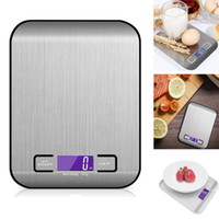 Wholesale Wholesale Fruit Scale - Digital Kitchen Scales Multifunction Food Fruit Vegetable Scale 5000g Silver Gold 304 LCD Display Stainless Steel Household Scales HH7-85