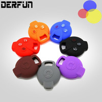 Wholesale Smart Car Fortwo - Benz Smart 3 Bottom Key Case Cover Remote Silicone Shell For Smart fortwo & forfour key Shell Accessories Car Styling