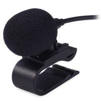 m dvd achat en gros de-3.5mm Inerface Microphone Externe Mic pour Voiture DVD Radio Ordinateur Portable Lecteur Stéréo HeadUnit Câble 3 m