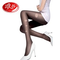 Wholesale Pantyhose Model - Wholesale- Langsha 2016 New Any Cutting Women Tights Prevention Hook Wire Pantyhose Filar Female Ultrathin Model Girls Sexy Stockings