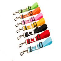 Wholesale Vehicle Fabric - Adjustable Pet Dog Cat Car Seat Belt Safety Leads Vehicle Seatbelt Harness, Made from Nylon Fabric