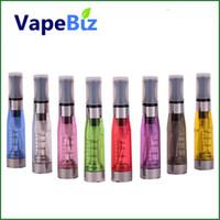 Wholesale Cigarette Factory For Sale - Factory Sales CE4 Atomizer eGo Clearomizer 1.6ml vapor tank Electronic Cigarette for e-cig battery 9 colors 4 wick CE4