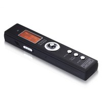 Wholesale 4gb Digital Voice Telephone Recorder - Wholesale-8GB Professional Audio Recorder Business Portable Digital Voice Recorder Support Telephone Recording USB Flash Drive