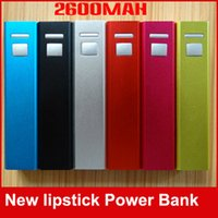 Mini Pocket 2600mah Power Bank Legierung Metall 18650 Akku Portable Telefon Ladegerät Power Banks für Mobile MP4