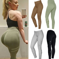 Wholesale Sexy Trousers For Ladies - Womens Offset Printing Sexy Tight Bodycon Sports Fitness Leggings For Ladies Fashion Casual Skinny Slim Gym Yoga Trousers Pencil Pants XL