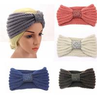 Wholesale Maternity Headbands - Turban Headbands Crocheted Maternity Headband for Pre Mama Handmade Crocheted Head Wraps Winter Ears Warmers Stunning Maternity Supplies