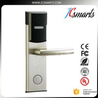 Wholesale Rf Door Locks - Smart design RF card digital door lock Intelligent hotel lock AA battery powered dampproof and dustproof