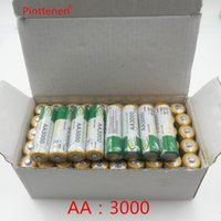Wholesale Ni Mh Rechargeable - New Original AA 3000mAh 1.2 V Quanlity Rechargeable Battery AA 3000mAh BTY NI-MH 1.2V Rechargeable 2A Battery